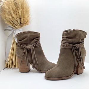 {Jessica Simpson} Sesley Suede Ankle Booties *NEW*